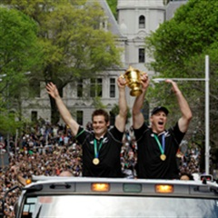 Gallery: AB's victory parade