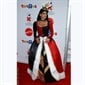 Teri Hatcher looks straight out of Alice In Wonderland, dressed as the Queen of Hearts.