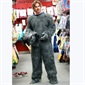 True Blood actor, Sam Trammel,whose wife, Missy Yager, is expecting twins, couldn't help himself with this wolf getup!