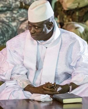 Yahya Jammeh. (File: AFP)
