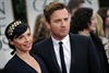 Ewan McGregor and his wife, Eve Mavrakis.