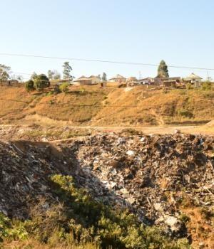 Illegal dump in Phayiphini.