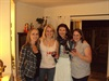 "Andrea Liss (second from right, with friends Sonja Yates, Tamaryn Kim MacDonald and Natalie MacDonald) said: ""What can I say - what a ladies night, filled with goodie bags, stickers, wine & of course TWIHARD gals. Favourite scene for me was the KISS"
