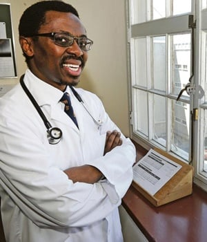 Professor Bongani Mayosi, the new dean of health sciences at UCT