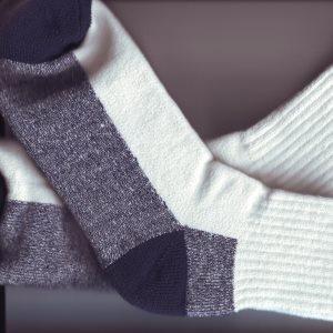 Diabetics need to keep feet dry
