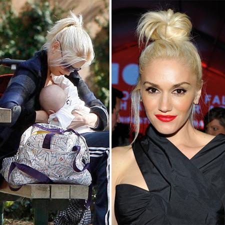 Celebrity breastfeeding videos newborn