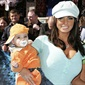 Katie Price became a mom at the age of 24 and according to TheHype.com she wanted to share the birth with the whole world. She had plans to broadcast her baby's birth live on the internet, but later changed her mind.