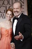 Kelsey Grammer, who won the Globe for Best Actor in A TV Drama Series for his role in <i>Boss</i>, and his wife Kayte Walsh.
