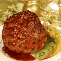 glazed gammon