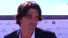 We speak to polo star Nacho Figueras at Prince Harry's event