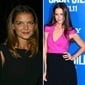 Once upon a time, Tom's wife and Suri's mom, Katie Holmes, embraced a fresh-faced look that made her famous on Dawson's Creek. Now the actress seems to prefer a a long sleek do and a much trendier wardrobe.