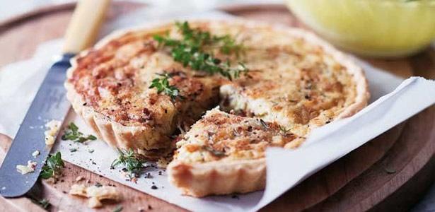 recipe, leek, pancetta, quiche,light meals