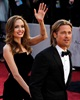 Brangelina grace the red carpet and greet their loyal Hollywood subjects.