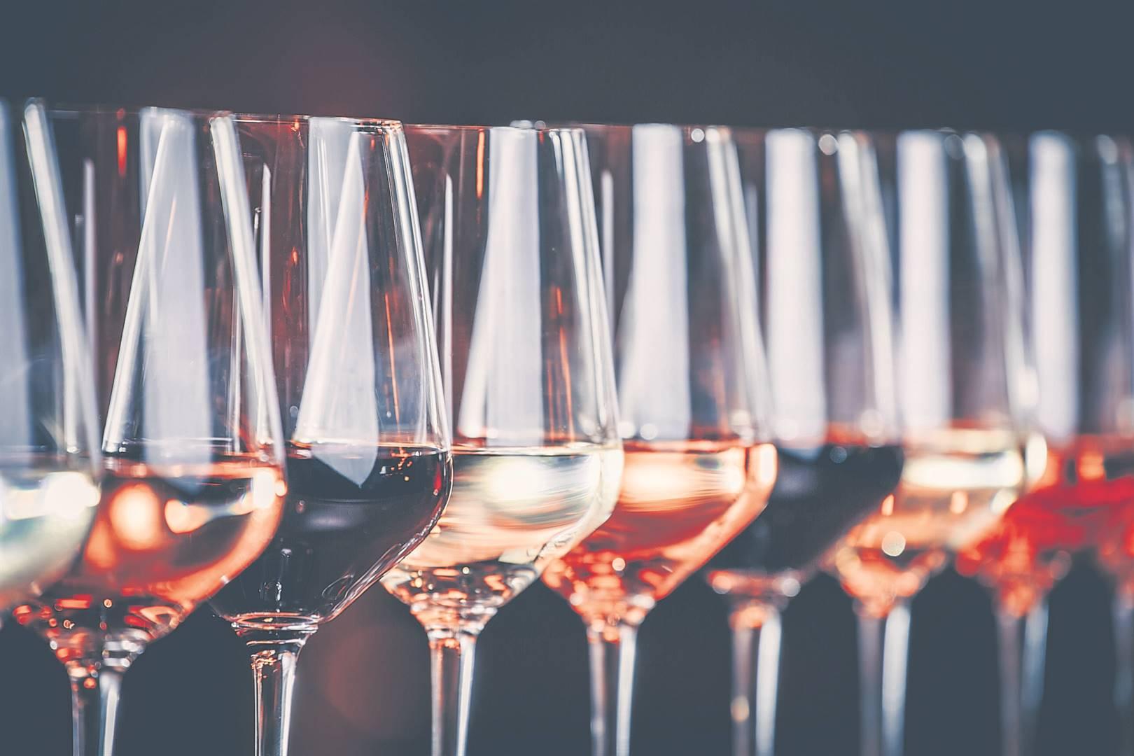 'n Verskeidenheid van wyne vorm deel van die 2020 National Wine Challenge se top-100 wyne. Foto: iSTOCK
