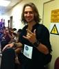 Matt Samson ready for his audition.