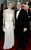 Prince Albert II of Monaco and his wife, Princess Charlene, arrive at the 84th Academy Awards. (Matt Sayles, AP)