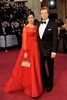 Colin Firth and his wife Livia Giuggioli arrive at the 84th Academy Awards. (Chris Pizzello, AP)