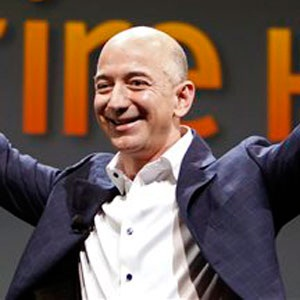 Jeff Bezos, CEO and founder of Amazon. (Reed Saxon, AP, file)