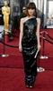 Bridesmaids star Rose Byrne is regal in black.