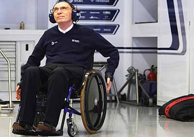 <b>FRANK WILLIAMS:</b> The founder of the Williams F1 team has elected to stand down from the board of his company.