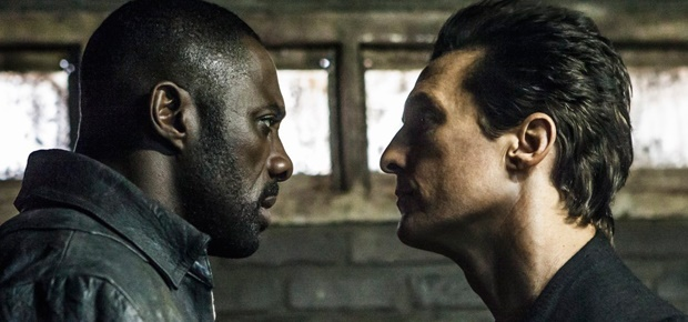 Idris Elba and Matthew McConaughey in The Dark Tower. (AP)