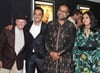 Riaad rubs shoulders with SA theatre and musical legend David Kramer and guests.