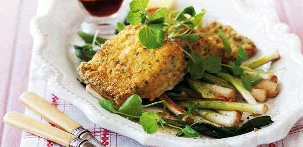 recipe, fish, leeks, dinner,seafood