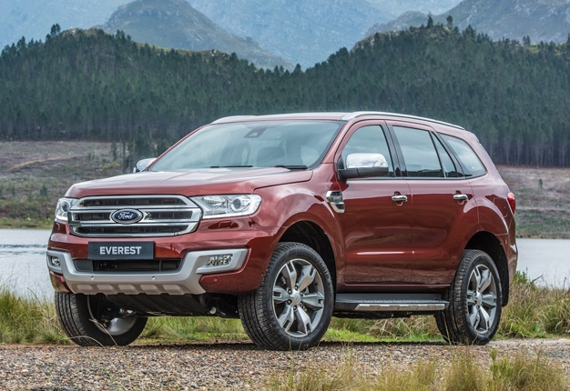 ford upgrades ranger everest with sync 3 navigation and more wheels24. Black Bedroom Furniture Sets. Home Design Ideas