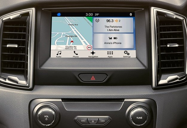Ford upgrades Ranger, Everest with SYNC 3, Navigation and