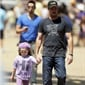 Entourage star Kevin Dillon was spotted with his daughter, Ava, at a beach event a couple months ago. Did you even know he had a daughter?