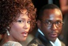 Whitney Houston with then-husband Bobby Brown the premiere of The Wonderful World of Disney movie Cinderella, at Mann's Chinese Theatre in Hollywood on October 13, 1997.