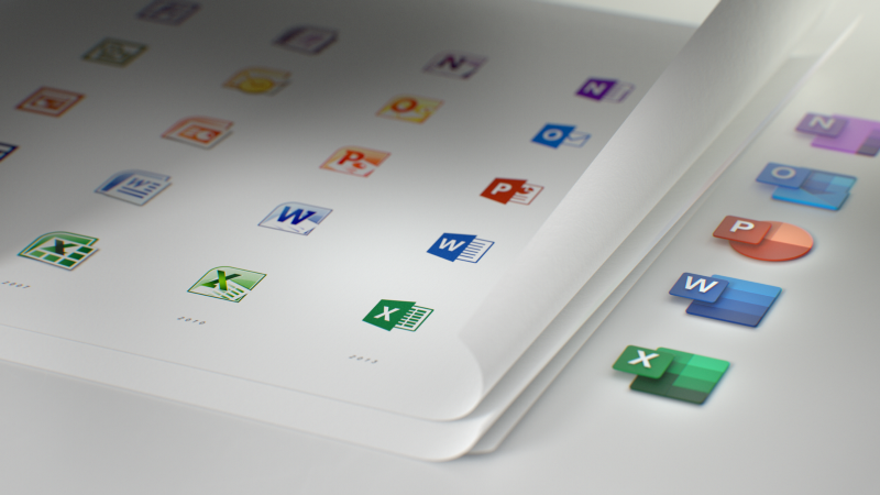It's out with the old and in with the new for Microsoft Office