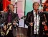 Al Jardine and Bruce Johnston of the band Beach Boys perform on stage. (Matt Sayles, AP)