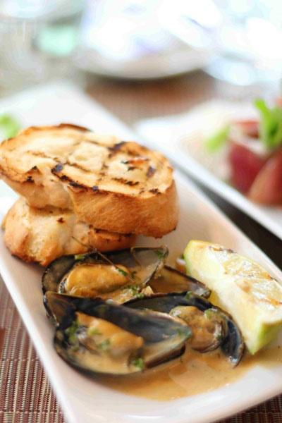 auralia's,emperor's palace,lunch,tapas,fish,mussel