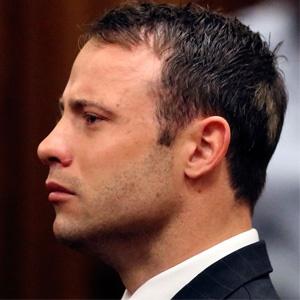 Oscar Pistorius (Pool pic)