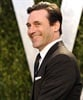 <I>Bridesmaids</i> actor Jon Hamm looks dashing at the Vanity Fair party in Hollywood.