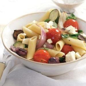 recipe, pasta, greek,light meals