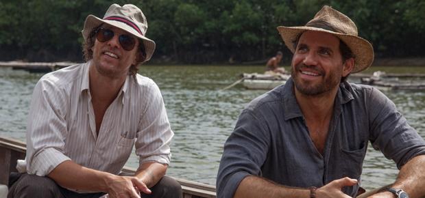 Matthew McConaughey  and Edgar Ramirez in Gold. (Ster-Kinekor)