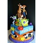 This Toy Story cake is so cool. Three different layers with all your favourite characters present.