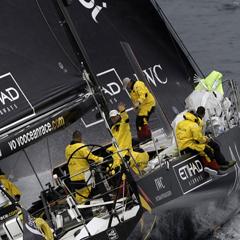 Abu Dhabi team in the Volvo Ocean Race