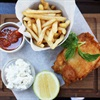 The La Belle fish and chips