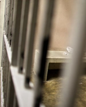 Jail bars. (File: AP)