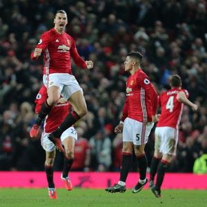Zlatan Ibrahimovic.(Getty Images)