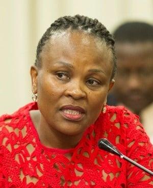 Public Protector Busisiwe Mkhwebane (File, Netwerk24)