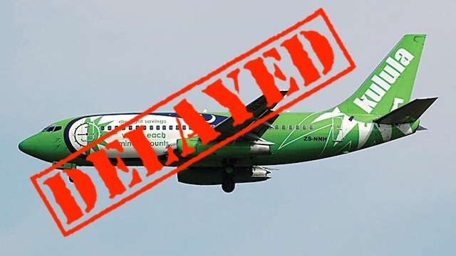 Comair delayed