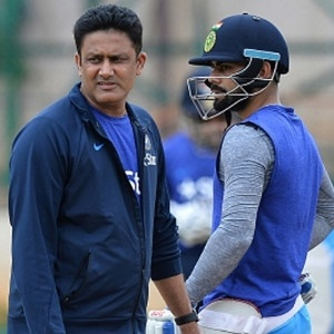Anil Kumble and Virat Kohli (Getty Images)