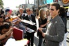 Tom Cruise meets his fans at the Los Angeles premiere.
