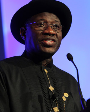 Goodluck Jonathan (Picture: AFP)
