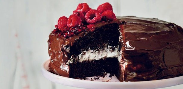 recipe,bake,sour cream,chocolate,cake