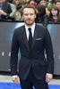 Michael Fassbender brought his scruffy ginger beard to the event. The sexy Irish actor plays a mysterious character named David in the movie.